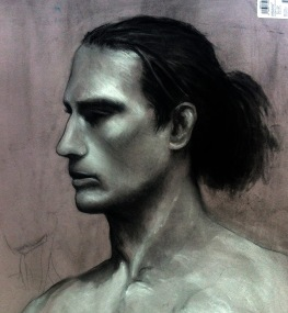 PORTRAIT STUDY / 6HR CHARCOAL