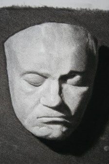CAST STUDY IN CHARCOAL