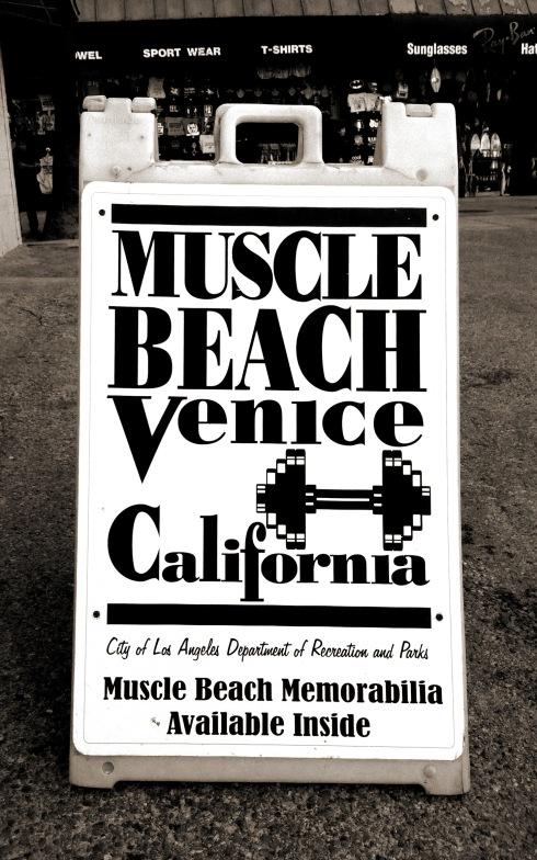 MUSCLE BEACH!!