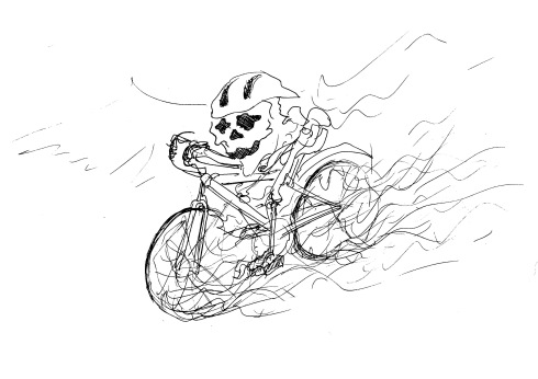 critical mass sketch from the weekend!