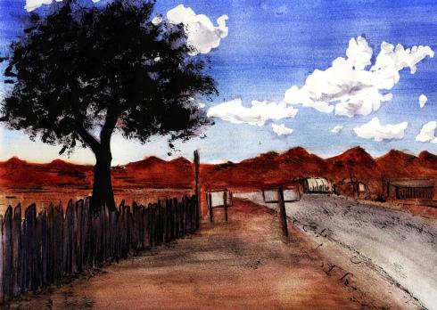 Western Skies Landscape